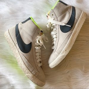 Nike Gray Suede High Tops